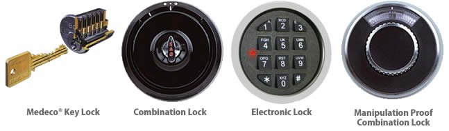 Fireproof File Cabinet Lock Options